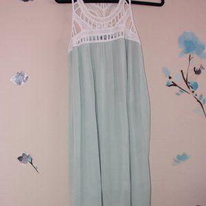 Maxi Crochet Top Dress